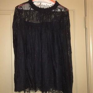 NWOT Altar'd State Lace blouse